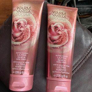 Warm Vanilla Sugar Ultra Shea Body Cream 226g ea